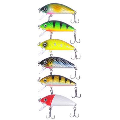 Воблер AZOR FISHING Лайт Минноу, SP, 5 гр. 5 см, глубина 1, 2-1, 8 м, 6 цветов