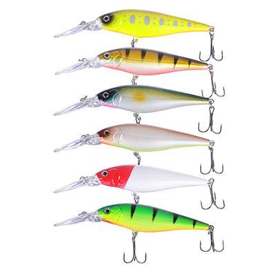 Воблер AZOR FISHING Дип Шэд Минноу, SP, 9, 2 гр. 11 см, глубина 1, 0 - 2, 0 м, 6 цветов