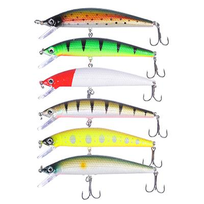 Воблер AZOR FISHING Фэт Минноу, SS, 8, 5 гр. 9, 5 см, глубина 0, 5-1, 5 м, 6 цветов