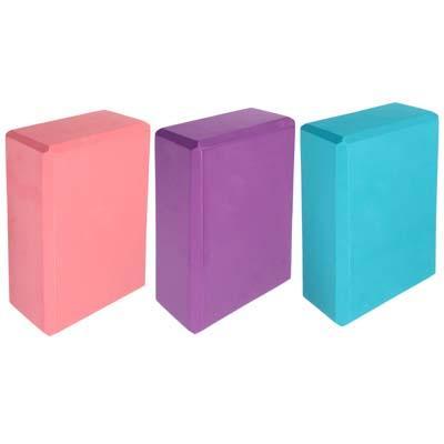 Блок для йоги, 23х15х8 см, SILAPRO