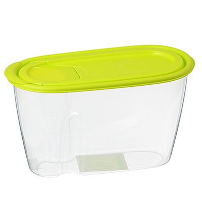 Емкость для сыпучих продуктов 0,9 л, пластик