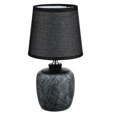 FORZA Лампа настольная, E14, 27,5см, 40 Вт, 220В, керамика, текстиль, 3 цвета