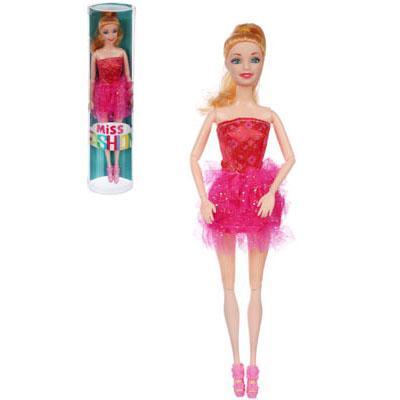 ИГРОЛЕНД Кукла шарнирная, 29см, PP,PVC, полиэстер, 8х32,5х5см, 2-6 дизайнов