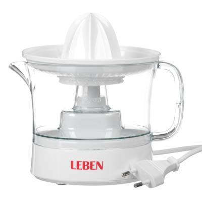 Соковыжималка для цитрусовых LEBEN 25 Вт, емкость для сока 0,5 л 273-019