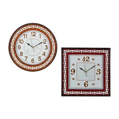 Часы настенные, пластик, 40 см, 1хАА