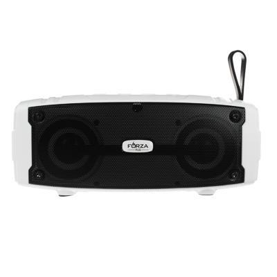 Колонка беспроводная FORZA подсветка, прорезиненная, 18.5см,1200мАч, USB, micro-SD,AUX