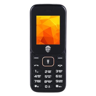 BY Мобильный телефон, цвет черно-оранжевый, 128-ТМ