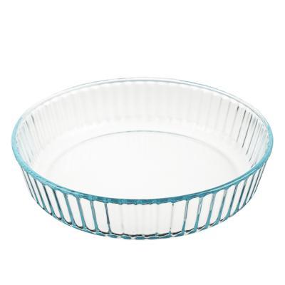 Форма для запекания жаропрочная SATOSHI, рельефный бортик, стекло