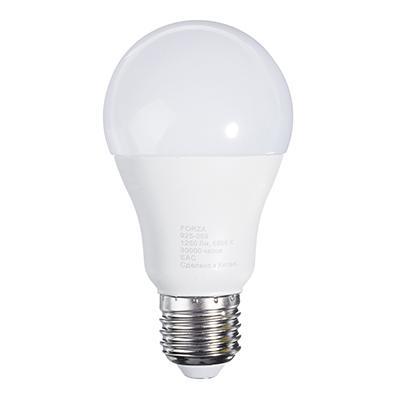 Лампа светодиодная FORZA A60, 14W, E27, 1250lm, 6500К