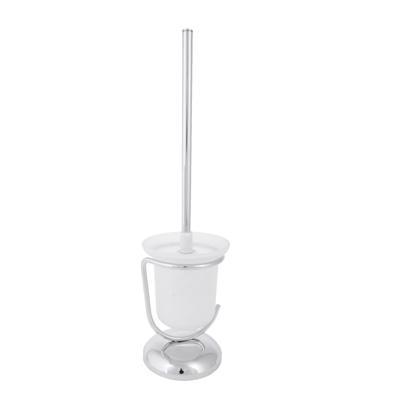 Ерш для туалета напольный SonWelle, хром/стекло