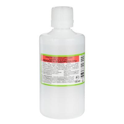 Перекись водорода 3 %,  Дезинфицирующее средство