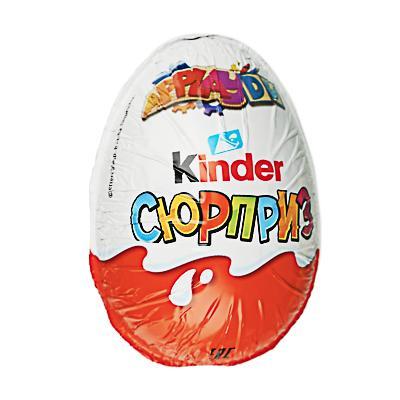 Яйцо шоколадное Киндер Сюрприз 20г, Т36