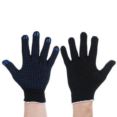 Перчатки вязаные эконом х/б с ПВХ напылением