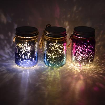LADECOR Светильник LED декоративный, стекло, 5х8 см, 1xCR203, 6 цветов, арт2, 1 режим свечения