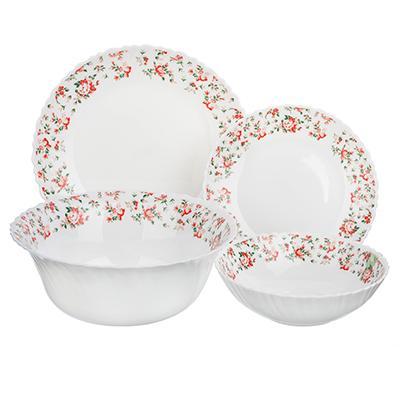 Набор столовой посуды 13 предметов, опаловое стекло, MILLIMI