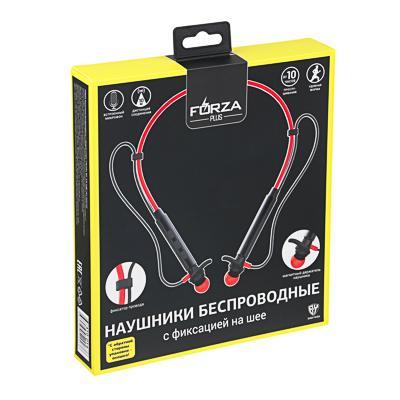 FORZA Наушники беспроводные с ободом спорт, 170 мАч, ВТ: 5.0, софт тач, пластик
