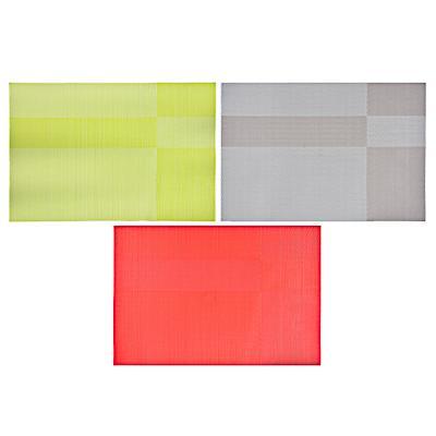 Салфетка сервировочная ПВХ, 30x45см, 3 цвета,