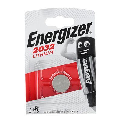 Батарейка, 1 шт, CR2032 литиевые, BL, Energizer