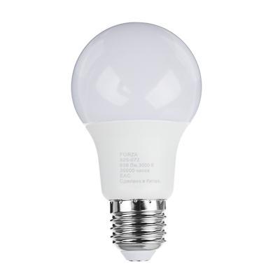 Лампа светодиодная FORZA A60, 9W, E27, 806lm, 3000К