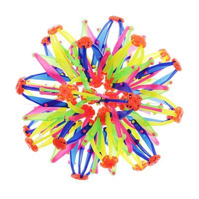 Игрушка в виде шара-трансформера, PP, 14см, разноцветная