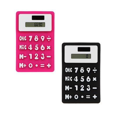 Калькулятор CLIP STUDIO 8-разрядный, гибкий с магнитом, 4 цвета