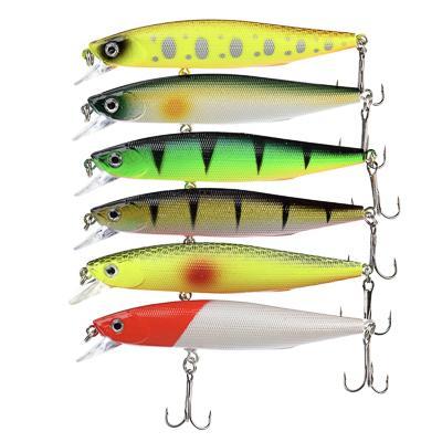 Воблер AZOR FISHING Дэнсер Флэт Минноу, 8, 7 г, 10 см, глубина 0, 5-1, 5м , 6 цветов