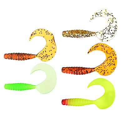 Приманка мягкая AZOR FISHING K.Good , силикон, 7см, 12шт., 3 цвета