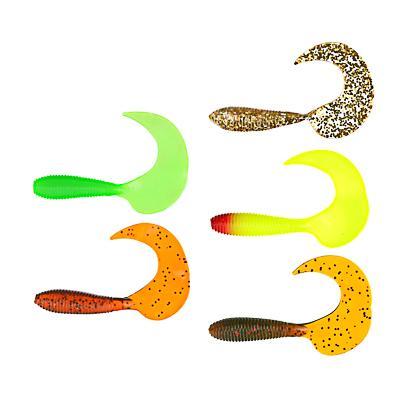 Приманка мягкая AZOR FISHING Shad, силикон, 9см, 8шт., 3 цвета