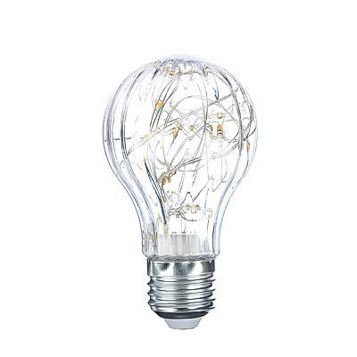 FORZA Лампочка с лентой подсветки, E27, A60, 105мм