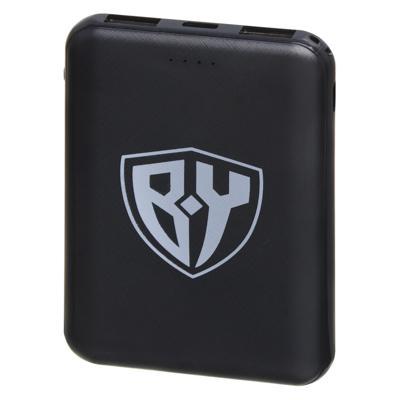 Аккумулятор мобильный FORZA, 5000мАч, 2 USB, 2A, 2 дизайна