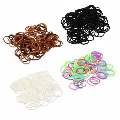 Резинки для волос BERIOTTI, 95-100 шт, d.1,5 см,  3 цвета