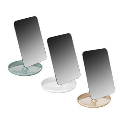 Зеркало настольное ЮниLook, 12,5х26,5 см, 4 цвета