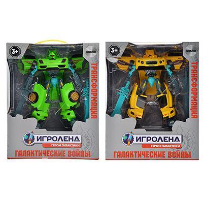 ИГРОЛЕНД Робот-машина, ABS, 31,5х25x9,8cм, 2 дизайна