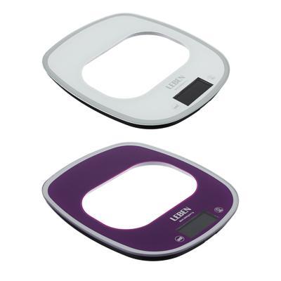 Весы кухонные электронные до 5 кг LEBEN раздвижные, сенсор 268-050