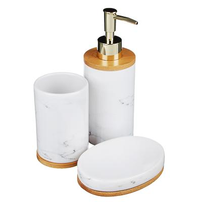 Набор для ванной, 3 предмета, керамика, VETTA