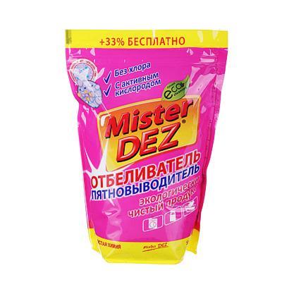 Отбеливатель-пятновыводитель Mister Dez Eco-Cleaning с активным кислородом, 800 г, арт 133