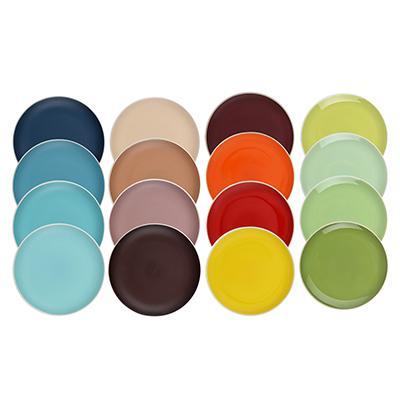 Набор тарелок 4 шт, d,18,8 см, керамика, MILLIMI