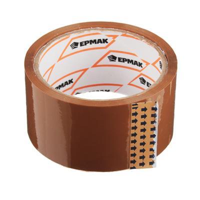 Лента клейкая, 48 ммx40 м, коричневая, ЕРМАК