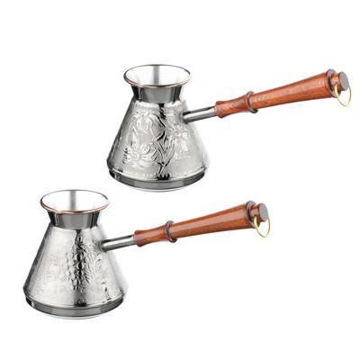 Vetta турка для кофе 540 мл медная, 2 дизайна