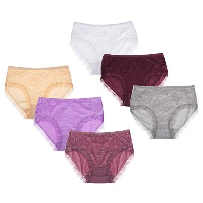 GALANTE Трусы женские макси ажурные, р. 48-54, 95% хлопок, 5% эластан, арт.1