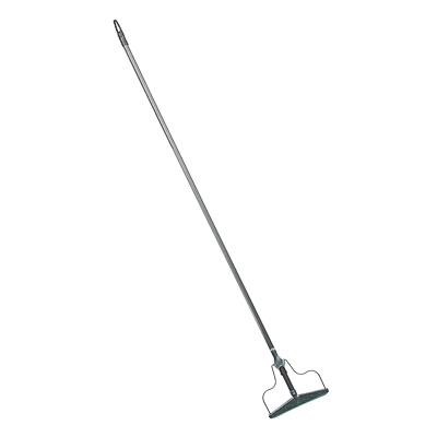Швабра-тряпкодержатель металлический в сборе с металлической ручкой, сталь, 1220х190х20мм,арт.ТР0359
