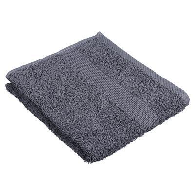 Полотенце махровое PROVANCE Наоми 50х90см, 100% хлопок, темно-серый