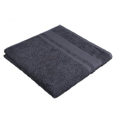 Полотенце махровое PROVANCE Наоми 70х130см, 100% хлопок, темно-серый
