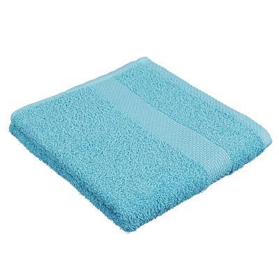 Полотенце махровое PROVANCE Наоми 50х90см, 100% хлопок, голубой