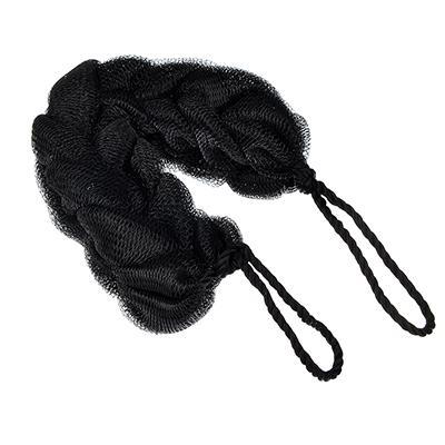 Мочалка-косичка, 70гр, черная