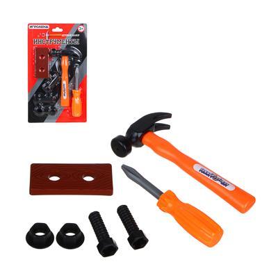 ИГРОЛЕНД Набор строительных инструментов, ABS, 28,5х23,5х3см