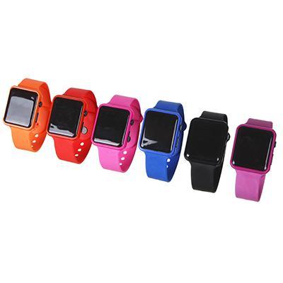 Часы электронные наручные BERIOTTI, 2хAG10, 4-6 цветов