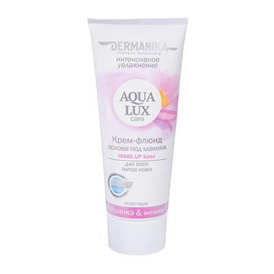 Крем-флюид для лица Dermanika Aqua Lux,увлажнение, морковь/огурец-алоэ,75мл,арт.40106