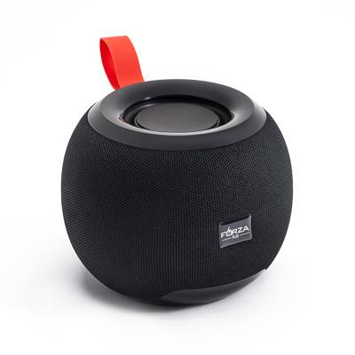 Колонка беспроводная FORZA тканевая, 5 Вт, 1200мАч, БТ5.0, 12,7x10,3, пластик, 3 цвета