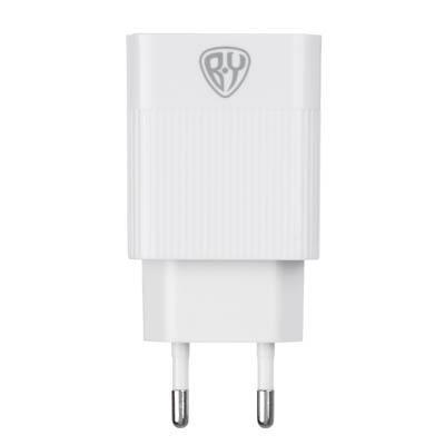 Зарядное устройство FORZA Максимум USB, 220В, 3USB, 3.4А, Быстрая зарядка QC3.1